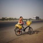 Jeune vendeur Turkmène