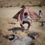 Barbecue à la Turkmène