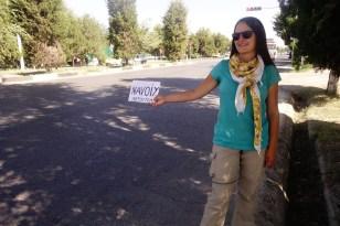 Autostop en Ouzbékistan