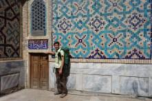 Mini-porte, Registan, Samarcande