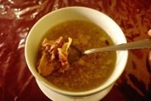 """La """"soupe""""! Je m'attendais à un potage..."""