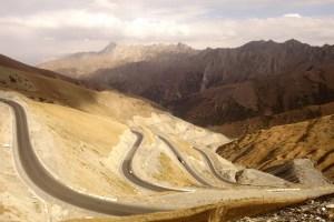 Montée vers le Col Taldyk, Kirghizistan