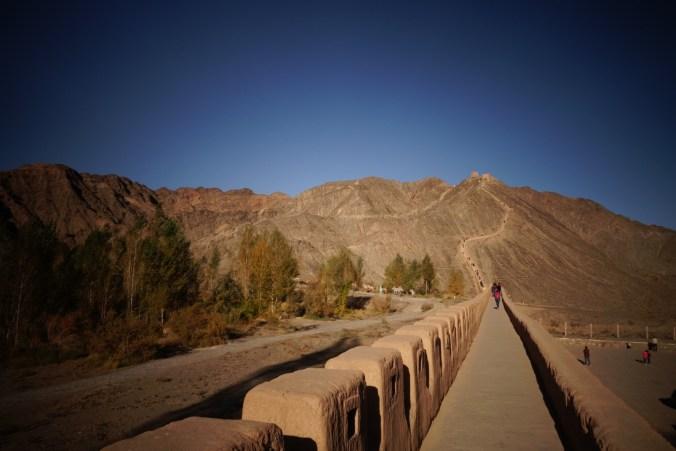 Début Ouest de la Grande Muraille - Jiayuguan