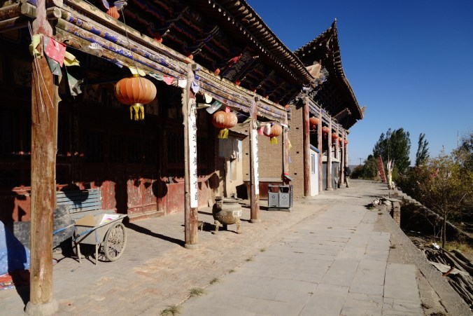 Temple à l'abandon - Jiayuguan