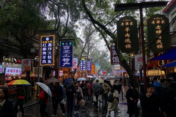 Le bazar - Xi'an