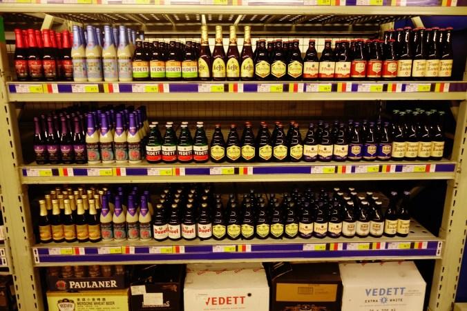 Impossible ! Des bières belges !