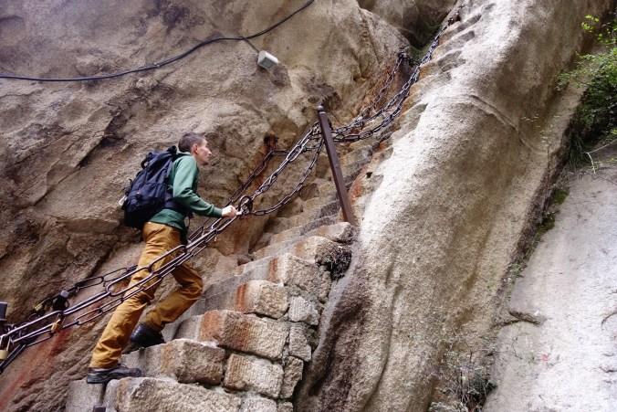 Chemin des soldats - Mont Huashan