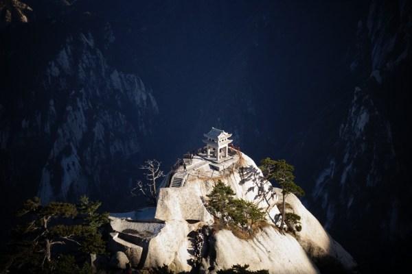 Kiosque - Mont Huashan