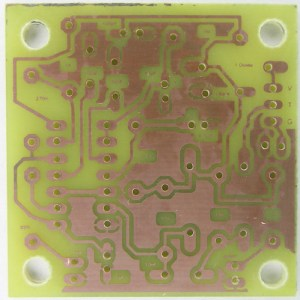 Image of the photo-etched printed circuit board for the doorbell alert light device