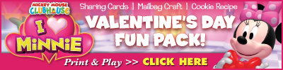 Download Printable Activities minnie mouse valentines day fun pack