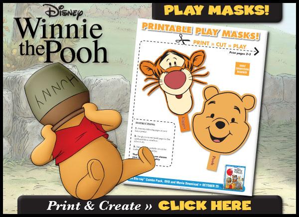 Download Printable Play Masks!