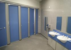 TBS Fabrications  Unisex Toilet Cubicles for Modern