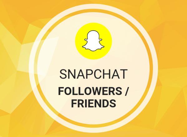 Buy Snapchat Followers/Friends