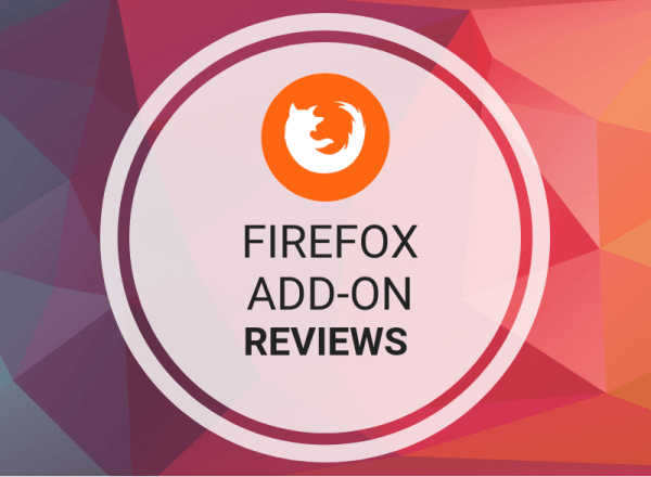 Buy Firefox Add-On Reviews