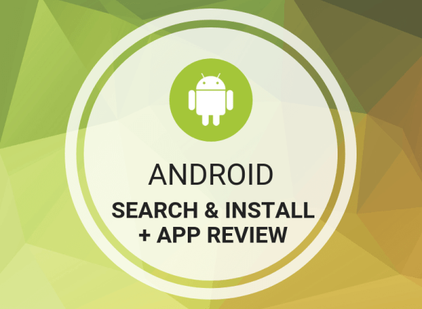 Buy Android Search + Install & App Review