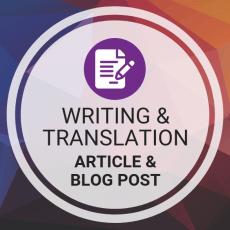 Buy Article & Blog Post