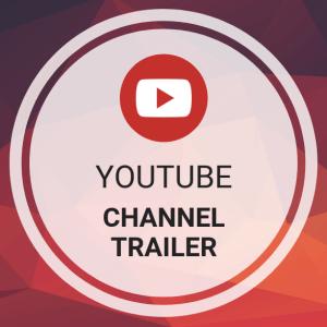 Buy YouTube Channel Trailer