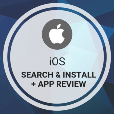 Buy iOS Search & Install + App Review