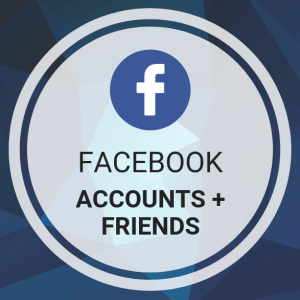 Buy Facebook Accounts + Friends