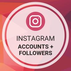 Buy Instagram Accounts + Followers