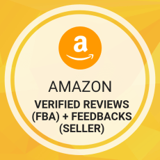 Buy Amazon Verified Reviews (FBA) + Feedbacks (Seller)