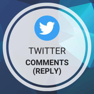 Buy Twitter Comments (Reply)