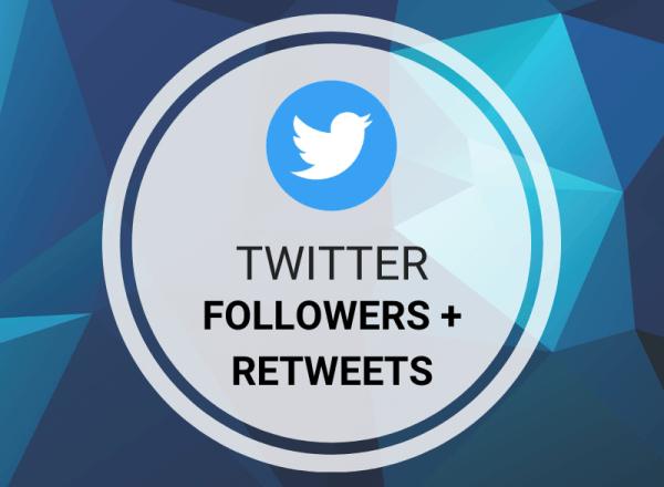 Buy Twitter Followers + Retweets