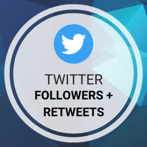 Buy Twitter Followers + Retweets
