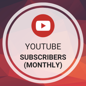 Buy YouTube Subscribers (Monthly)