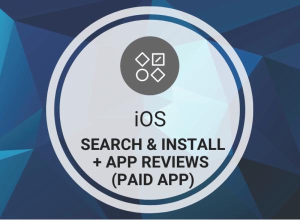 Buy iOS App Search & Reviews (Paid App)