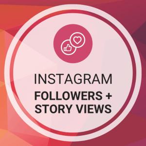 Buy Instagram Followers + Story Views
