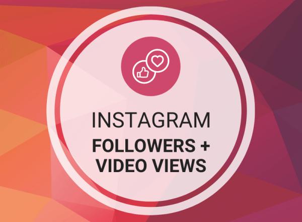 Buy Instagram Followers + Video Views