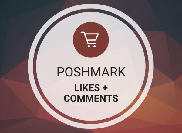 Buy Poshmark Likes + Comments