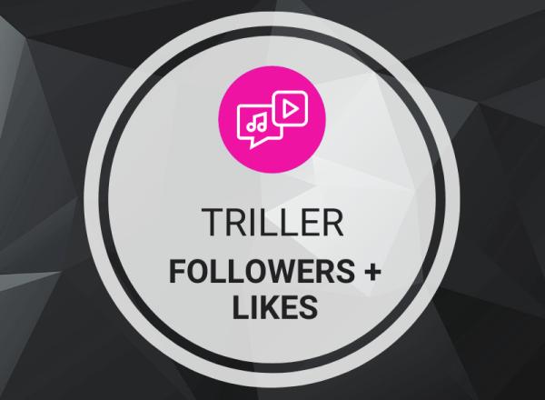 Buy Triller Followers + Likes