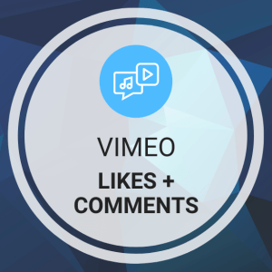 Buy Vimeo Likes + Comments