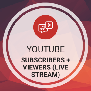 Buy YouTube Subscribers + Viewers (Live Stream)