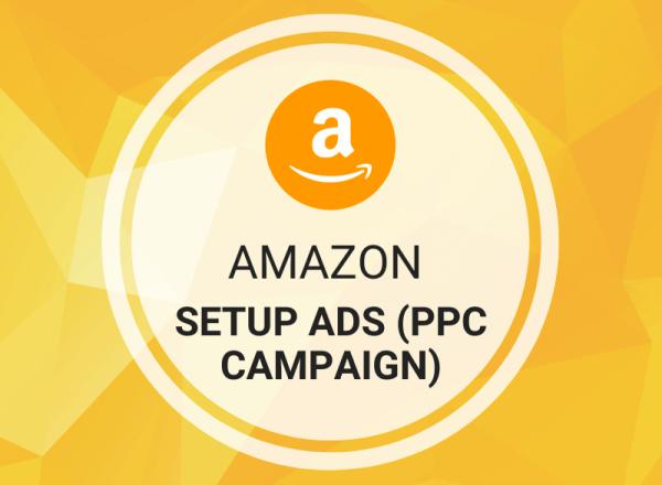 Buy Setup Amazon Ads (PPC Campaign)