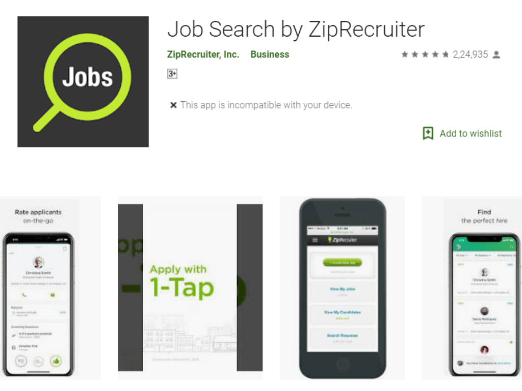 download ziprecruiter resume