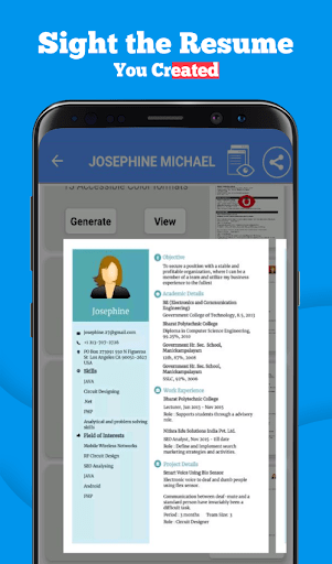 Resume Format App