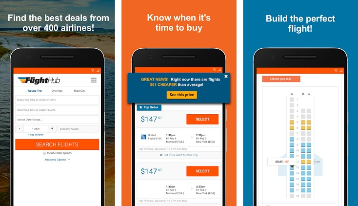 FlightHub – Book Cheap Flights. Hotels and Cars App – Mobile and Tablet Apps Online Directory – AppsDiary