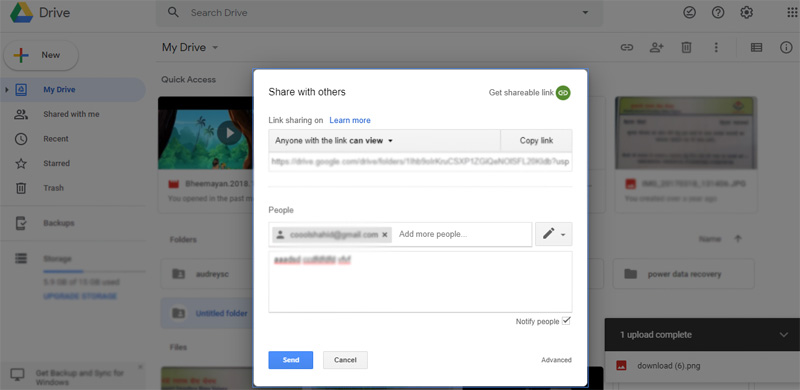 How to use Google Drive for Share Files and Folder | Guide