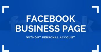 How to Create Facebook Page without Personal Account