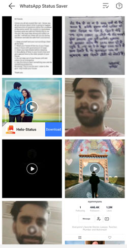 how to save whatsapp status video