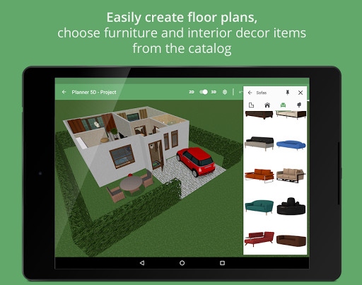 kitchen planning software cabinet drawer pulls planner 5d - home design for android free download