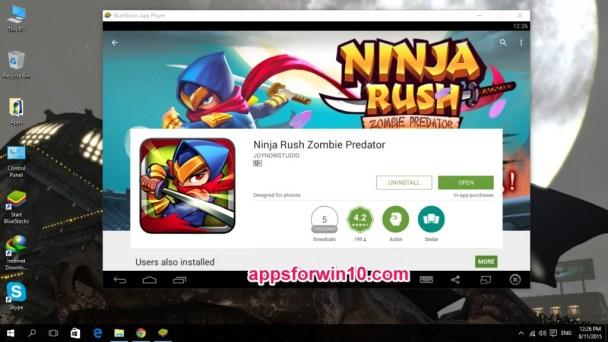 Ninja Rush Zombie Predator for PC
