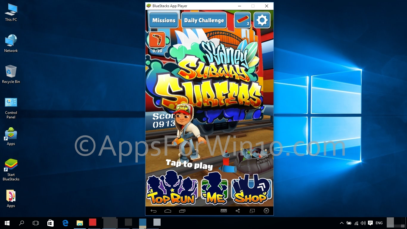 Subway surfers eng 2017 pc game password