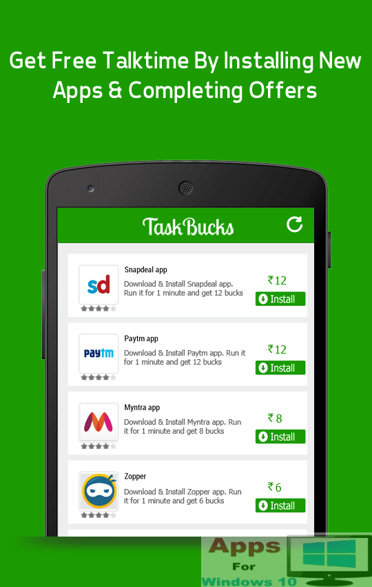 TaskBucks for PC Windows 10 | Apps For Windows 10
