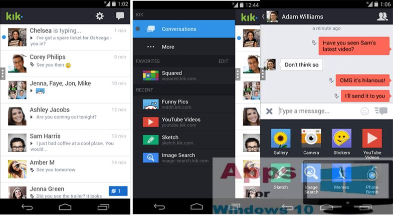 Kik Messenger for PC Windows 10 & Mac | Apps For Windows 10