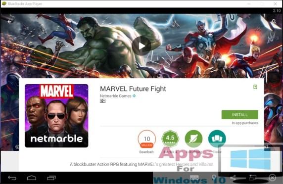 MARVEL_Future_Fight_for_Windows10