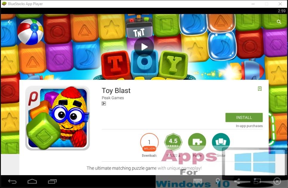 Toy Blast App For Windows : Toy blast for pc windows mac os apps